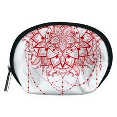 Mandala Pretty Design Pattern Accessory Pouches (medium)