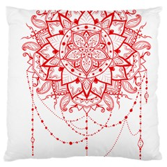 Mandala Pretty Design Pattern Standard Flano Cushion Case (two Sides)