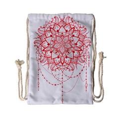 Mandala Pretty Design Pattern Drawstring Bag (small)
