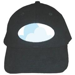 Cloud Sky Blue Decorative Symbol Black Cap