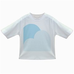 Cloud Sky Blue Decorative Symbol Infant/Toddler T-Shirts
