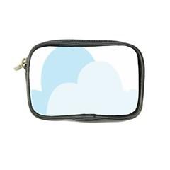 Cloud Sky Blue Decorative Symbol Coin Purse