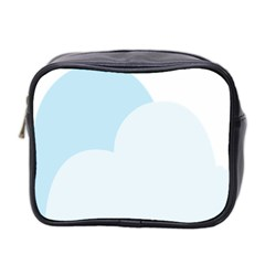 Cloud Sky Blue Decorative Symbol Mini Toiletries Bag 2 Side