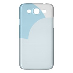 Cloud Sky Blue Decorative Symbol Samsung Galaxy Mega 5 8 I9152 Hardshell Case