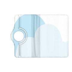 Cloud Sky Blue Decorative Symbol Kindle Fire Hd (2013) Flip 360 Case