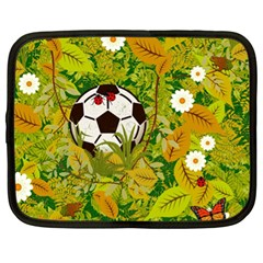 Ball On Forest Floor Netbook Case (xl)