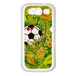 Ball On Forest Floor Samsung Galaxy S3 Back Case (White) Front