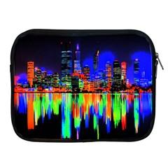 City Panorama Apple Ipad 2/3/4 Zipper Cases