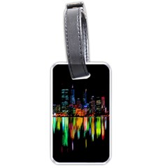 City Panorama Luggage Tags (one Side)