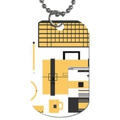 Web Design Mockup Web Developer Dog Tag (one Side)