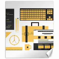 Web Design Mockup Web Developer Canvas 8  x 10
