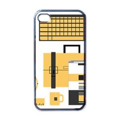 Web Design Mockup Web Developer Apple iPhone 4 Case (Black)