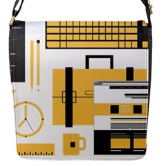 Web Design Mockup Web Developer Flap Messenger Bag (S)
