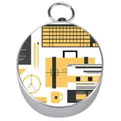 Web Design Mockup Web Developer Silver Compasses