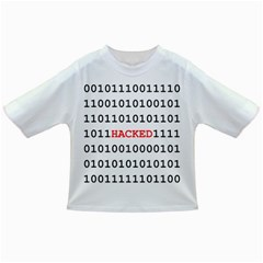 Binary Black Cyber Data Digits Infant/Toddler T-Shirts