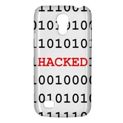 Binary Black Cyber Data Digits Galaxy S4 Mini