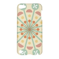 Blue Circle Ornaments Apple Ipod Touch 5 Hardshell Case
