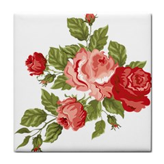 Flower Rose Pink Red Romantic Face Towel