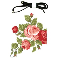 Flower Rose Pink Red Romantic Shoulder Sling Bags