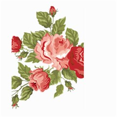 Flower Rose Pink Red Romantic Large Garden Flag (two Sides)