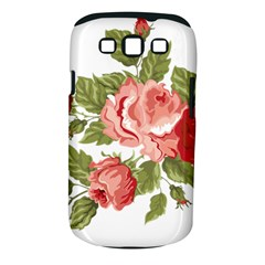 Flower Rose Pink Red Romantic Samsung Galaxy S Iii Classic Hardshell Case (pc+silicone)
