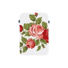 Flower Rose Pink Red Romantic Apple Ipad Mini Protective Soft Cases