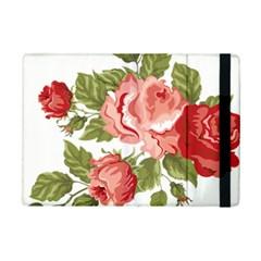 Flower Rose Pink Red Romantic Ipad Mini 2 Flip Cases