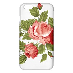Flower Rose Pink Red Romantic Iphone 6 Plus/6s Plus Tpu Case