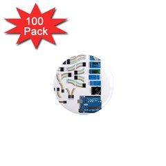 Arduino Arduino Uno Electronic 1  Mini Magnets (100 pack)