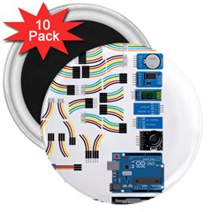 Arduino Arduino Uno Electronic 3  Magnets (10 Pack)