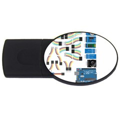 Arduino Arduino Uno Electronic USB Flash Drive Oval (2 GB)