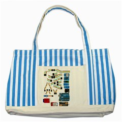 Arduino Arduino Uno Electronic Striped Blue Tote Bag