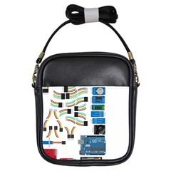 Arduino Arduino Uno Electronic Girls Sling Bags