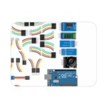Arduino Arduino Uno Electronic Double Sided Flano Blanket (Mini)  35 x27 Blanket Front