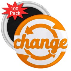 Think Switch Arrows Rethinking 3  Magnets (100 Pack)