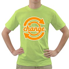Think Switch Arrows Rethinking Green T Shirt