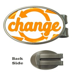 Think Switch Arrows Rethinking Money Clips (oval)