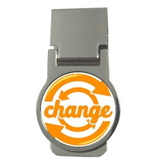 Think Switch Arrows Rethinking Money Clips (round)