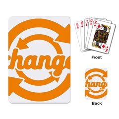 Think Switch Arrows Rethinking Playing Card