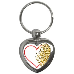 Heart Transparent Background Love Key Chains (heart)