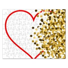 Heart Transparent Background Love Rectangular Jigsaw Puzzl