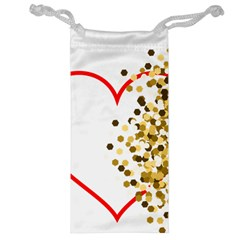 Heart Transparent Background Love Jewelry Bag