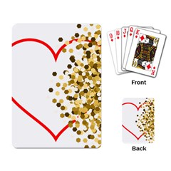 Heart Transparent Background Love Playing Card
