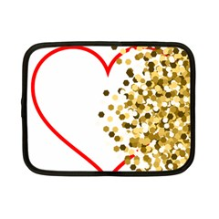 Heart Transparent Background Love Netbook Case (small)