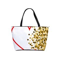 Heart Transparent Background Love Shoulder Handbags