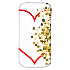 Heart Transparent Background Love Samsung Galaxy S3 S Iii Classic Hardshell Back Case
