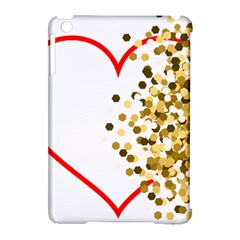 Heart Transparent Background Love Apple iPad Mini Hardshell Case (Compatible with Smart Cover)