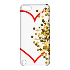 Heart Transparent Background Love Apple Ipod Touch 5 Hardshell Case With Stand