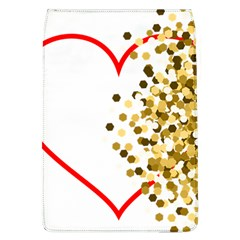 Heart Transparent Background Love Flap Covers (l)