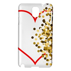Heart Transparent Background Love Samsung Galaxy Note 3 N9005 Hardshell Case